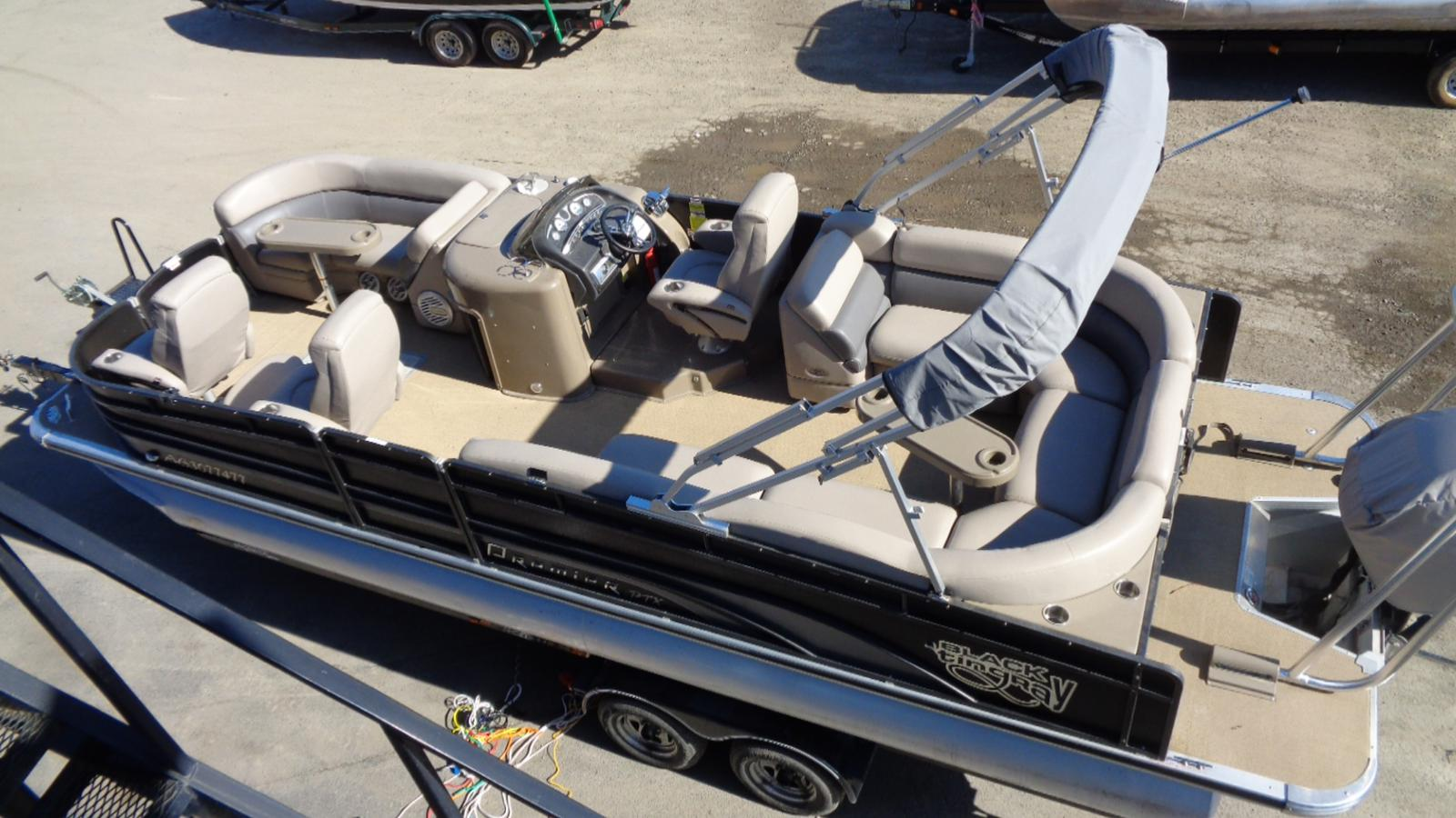 2011 PREMIER PONTOONS 250 INTRIQUE for sale