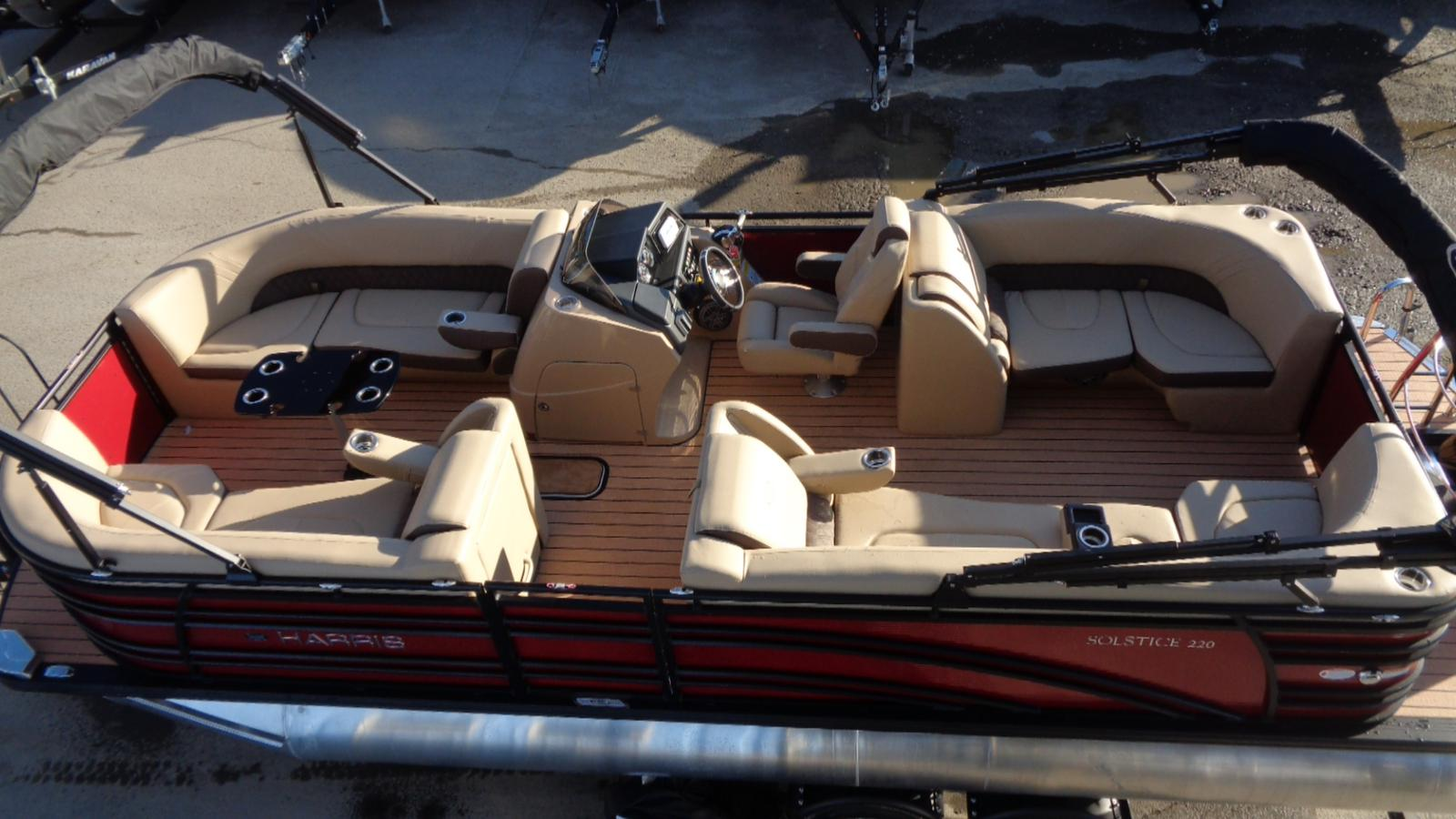 For Sale: 2019 Harris Solstice 220 24ft<br/>Dockside Marine Centre, LTD.