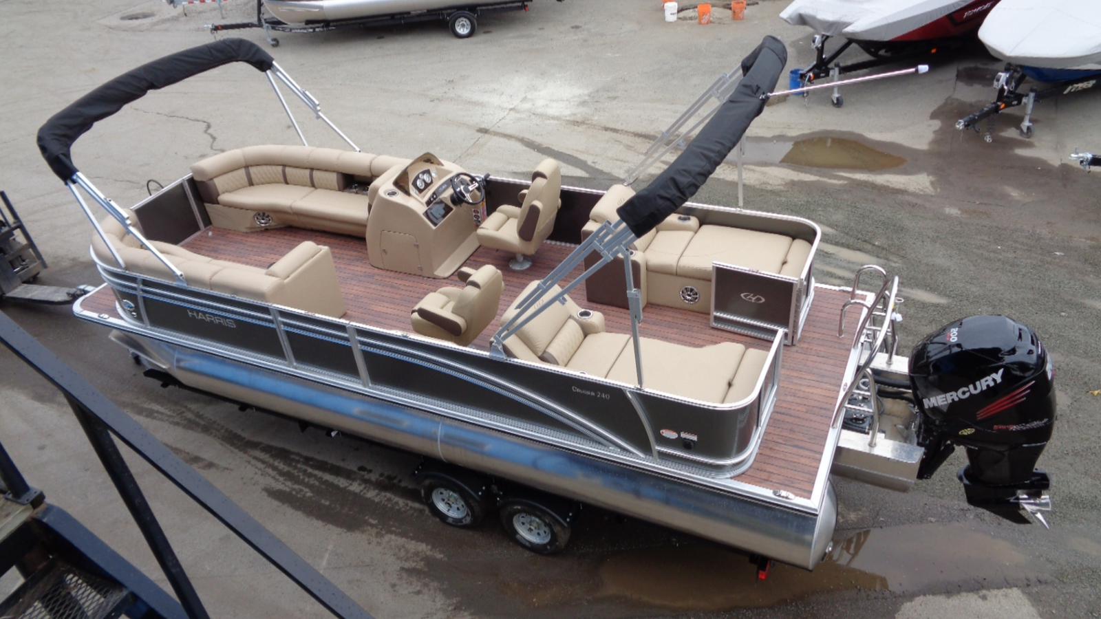For Sale: 2017 Harris Cruiser 240 24ft<br/>Dockside Marine Centre, LTD.