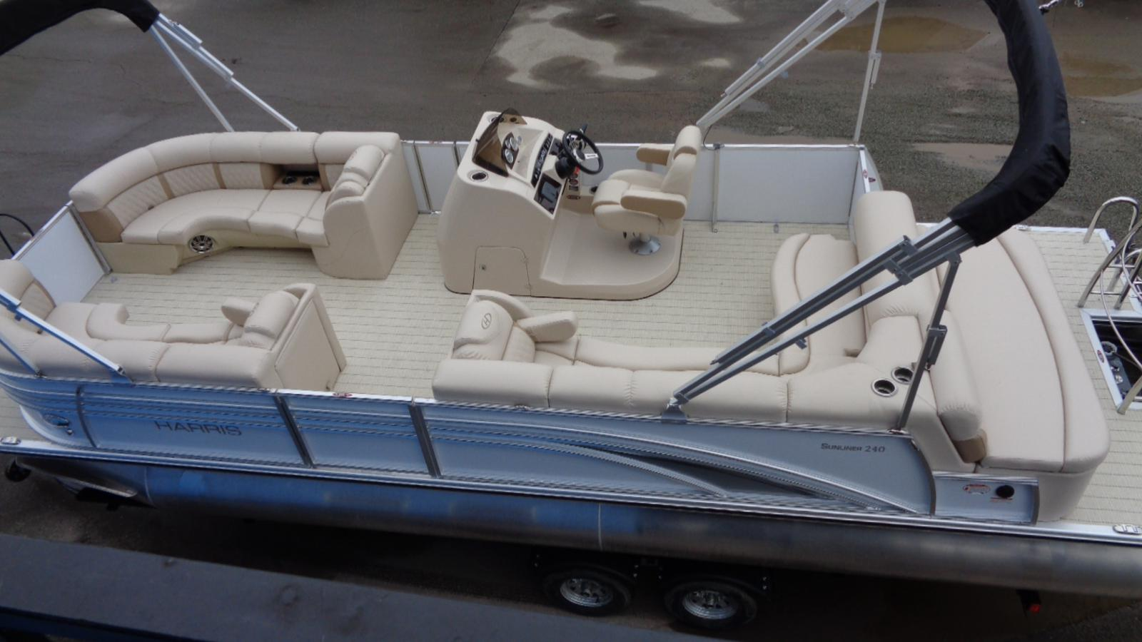 For Sale: 2017 Harris 240 Sunliner 25ft<br/>Dockside Marine Centre, LTD.