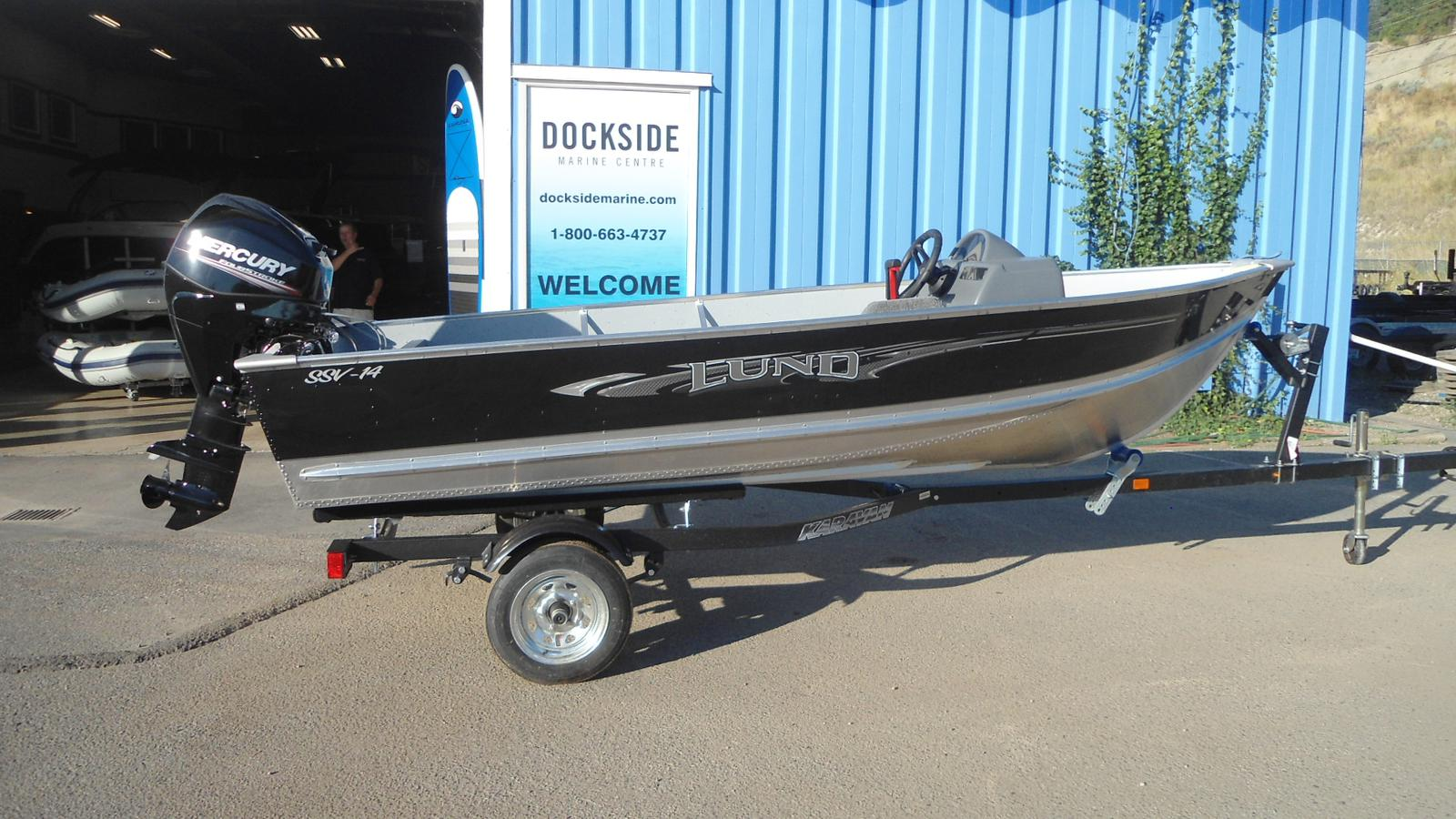 For Sale: 2016 Lund Ssv 14 Side Console 15ft<br/>Dockside Marine Centre, LTD.