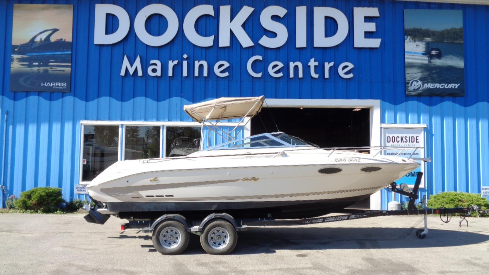 For Sale: 1995 Sea Ray 220 Cuddy 23ft<br/>Dockside Marine Centre, LTD.