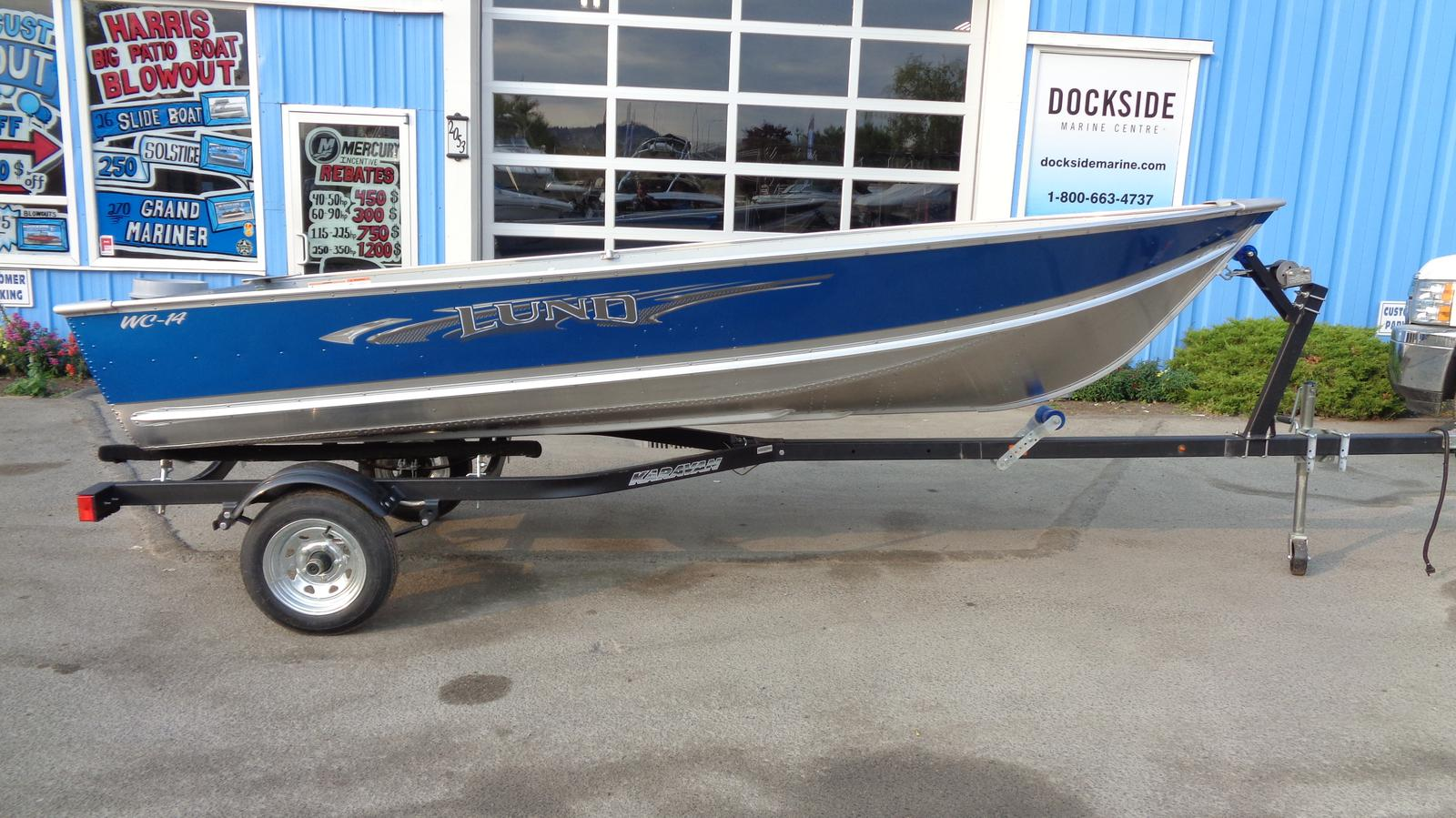 For Sale: 2018 Lund Wc 14 14ft<br/>Dockside Marine Centre, LTD.