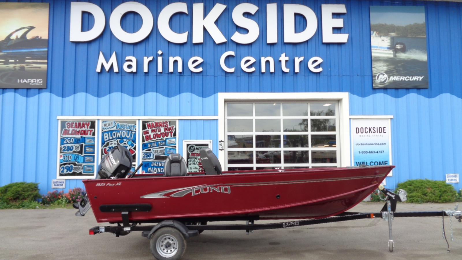 For Sale: 2018 Lund 1625 Fury 17ft<br/>Dockside Marine Centre, LTD.