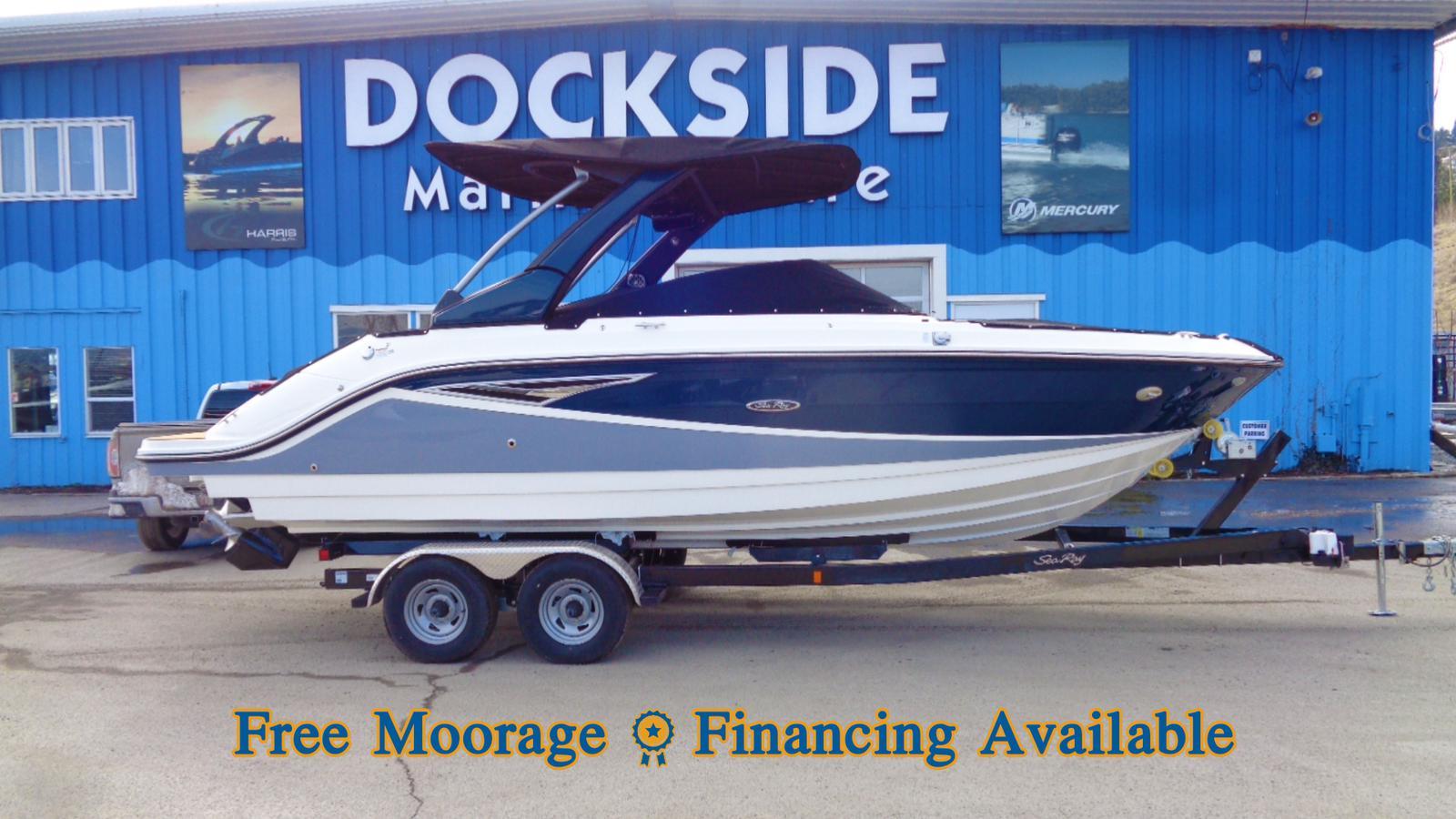 For Sale: 2018 Sea Ray Slx 250 26ft<br/>Dockside Marine Centre, LTD.
