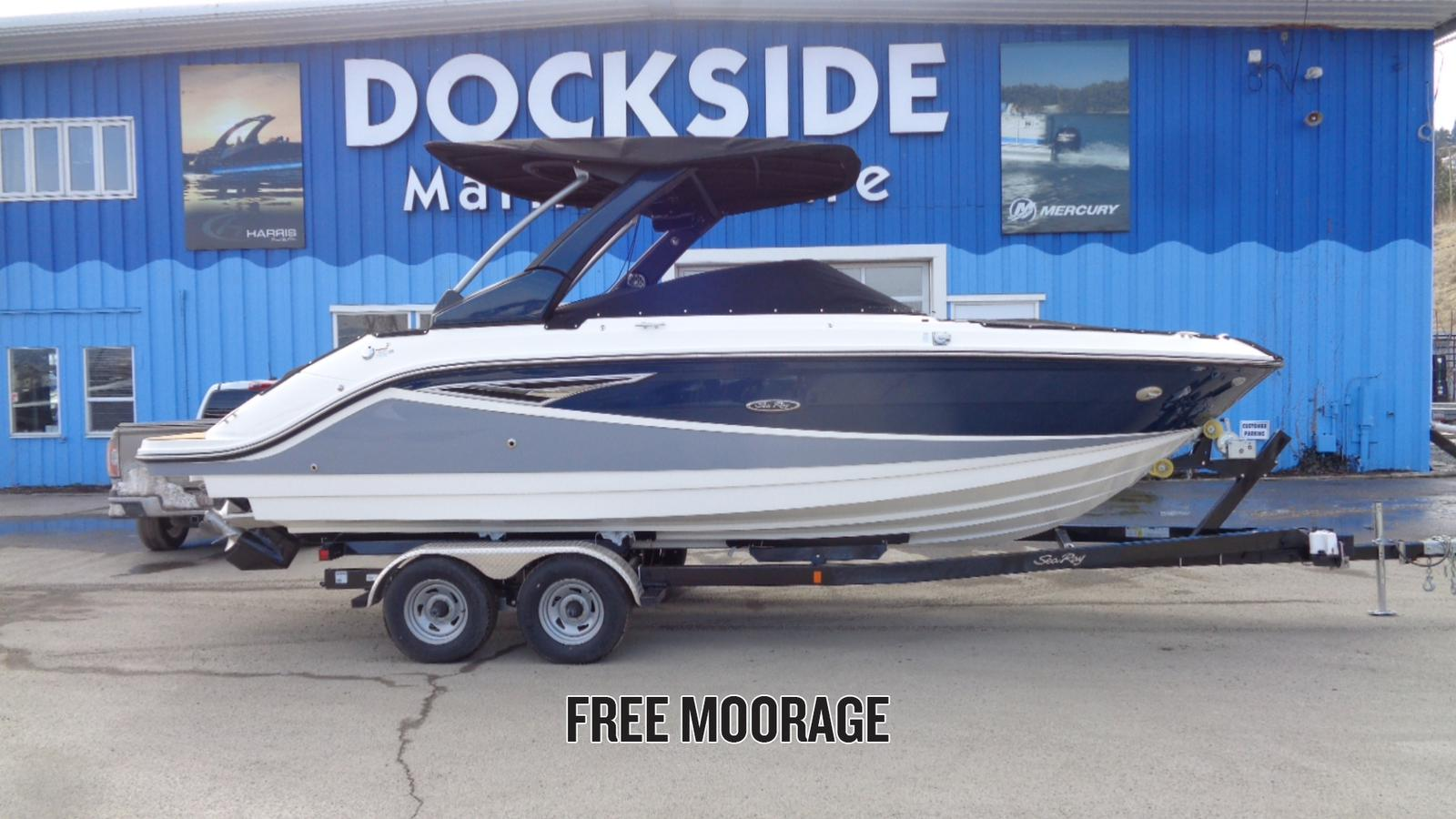 For Sale 2018 Sea Ray Slx 250 26Ft<Br>Dockside Marine Centre