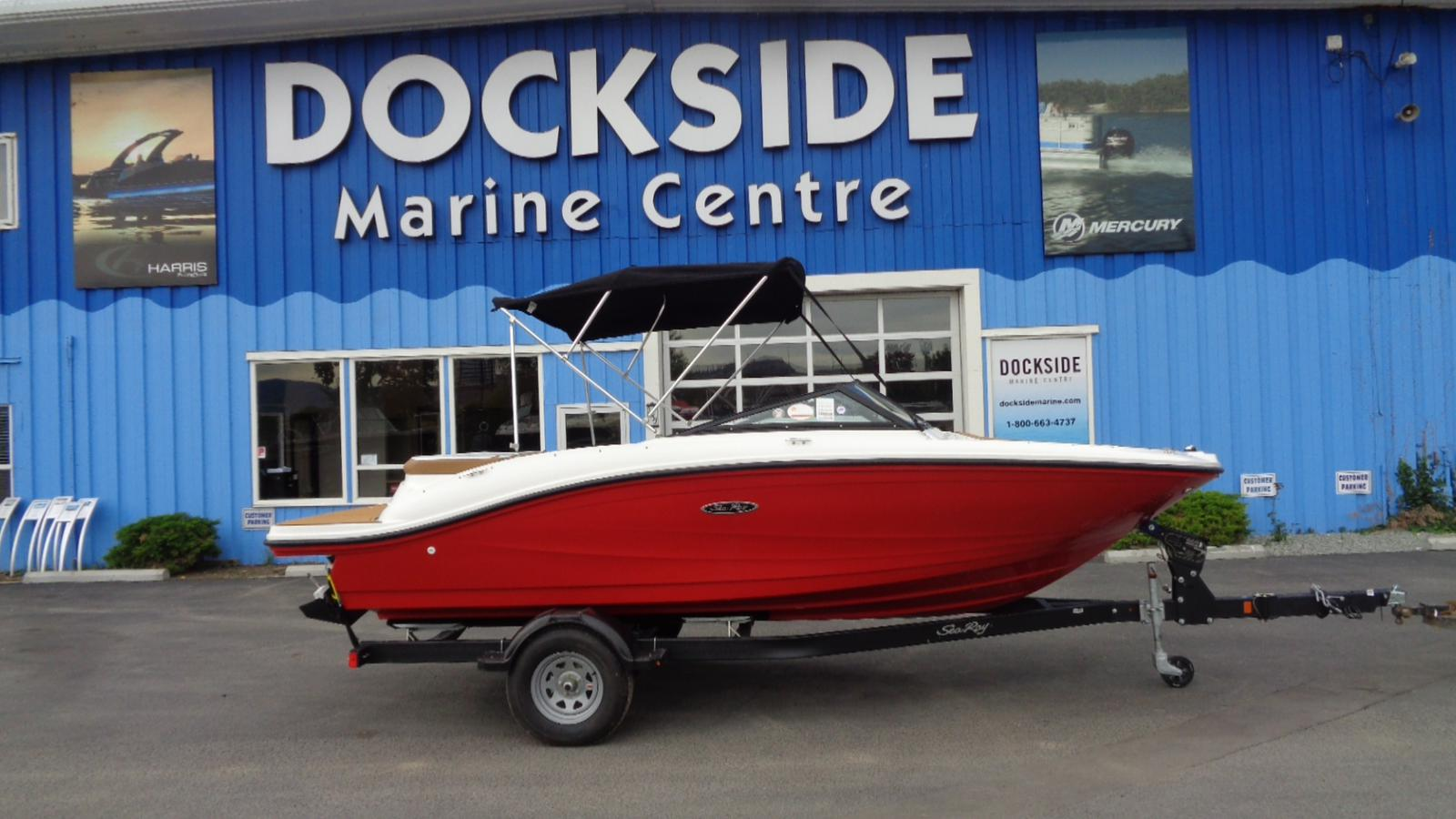 For Sale: 2018 Sea Ray Spx 190 20ft<br/>Dockside Marine Centre, LTD.