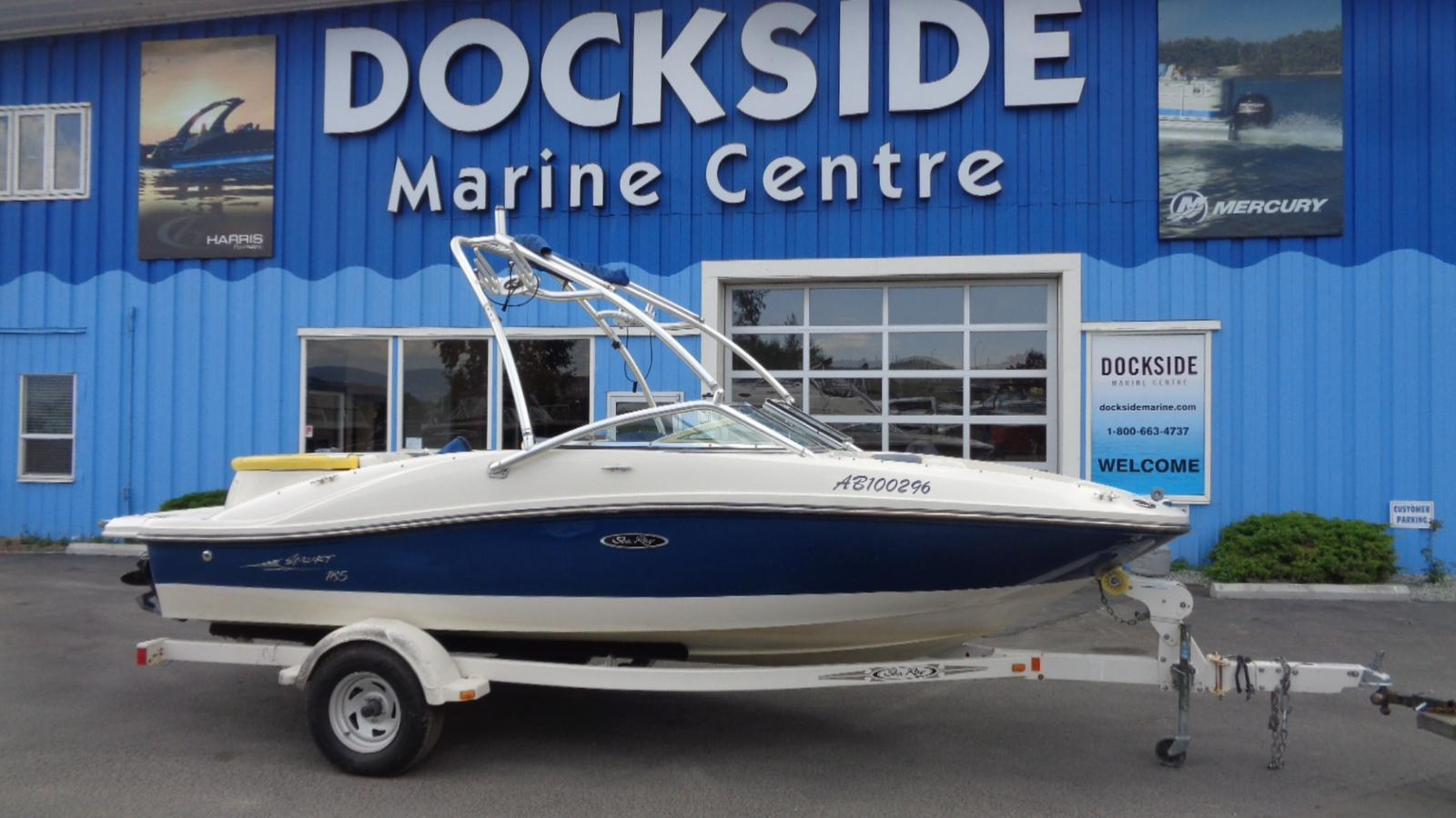 For Sale: 2006 Sea Ray 185 Sport 19ft<br/>Dockside Marine Centre, LTD.
