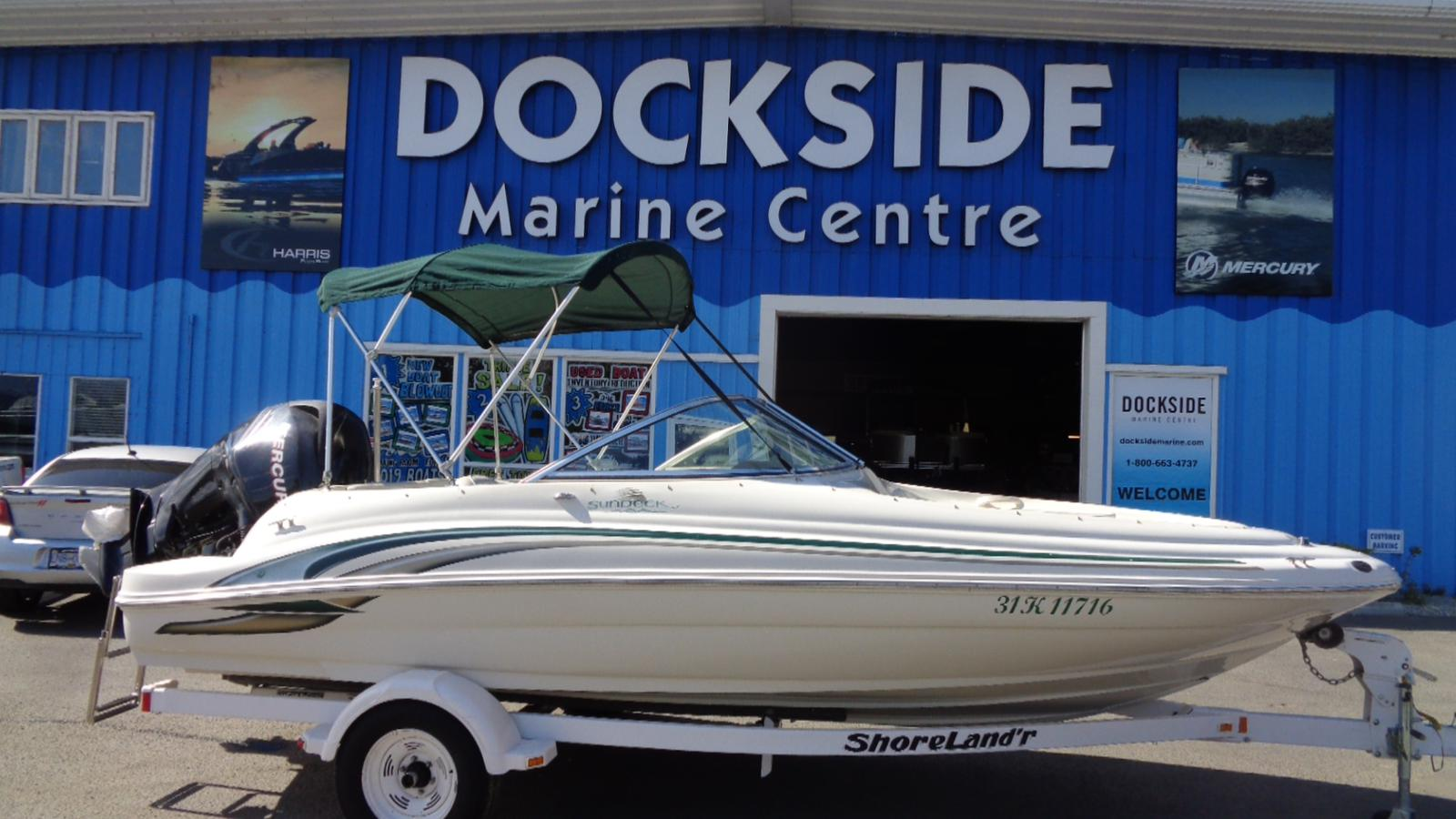 For Sale: 2000 Sea Ray 190 Sundeck 19ft<br/>Dockside Marine Centre, LTD.