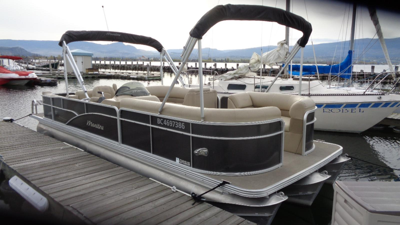 For Sale: 2015 Manitou 250 Oasis Sr 25ft<br/>Dockside Marine Centre, LTD.