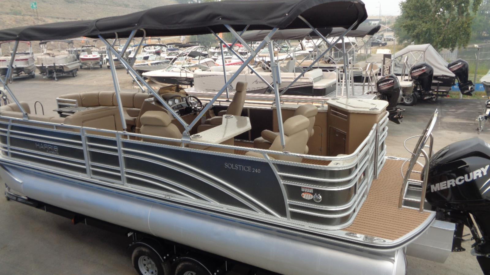 For Sale: 2014 Harris 240 Solstice 26ft<br/>Dockside Marine Centre, LTD.