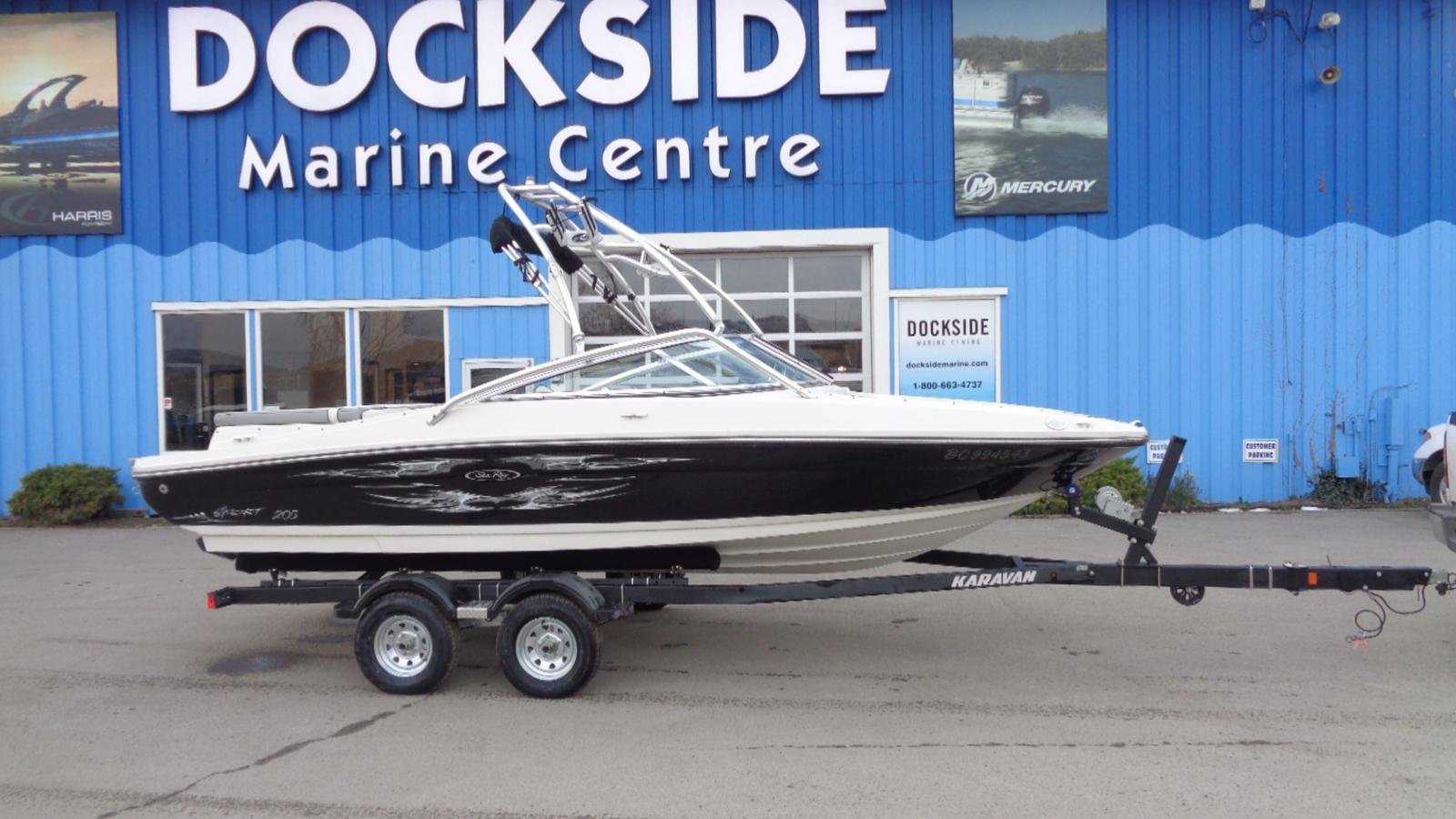 For Sale: 2008 Sea Ray 205 Sport 21ft<br/>Dockside Marine Centre, LTD.
