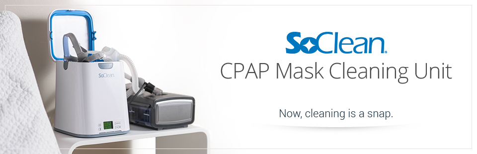 SoClean CPAP Mask Cleaning Unit: Now, cleaning is a snap.