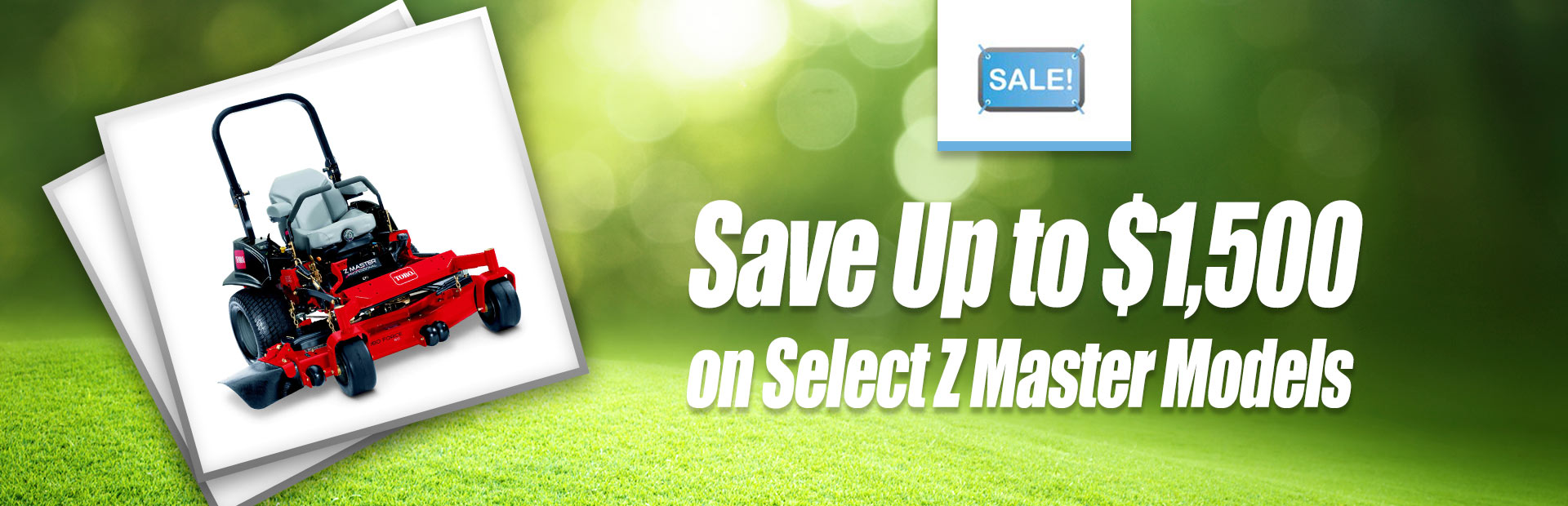 Save up to $1,500 on select Z Master models. Click here for details.