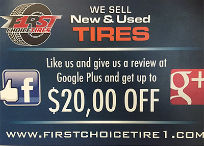 Like us and give us a review at Google Plus and get up to $20.00 off.