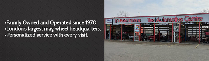 Family Owned and Operated Since 1970 | London's Largest Mag Wheel Headquarters | Personalized Service with Every Visit