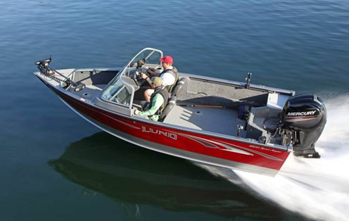 Lund Sport Angler Fishing Boats