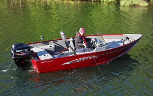 Lund Fury Series Fishing Boats