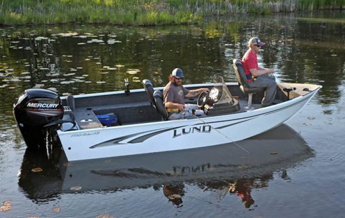 Lund Rebel Fishing Boats