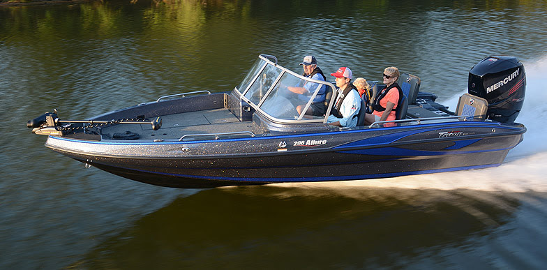 triton fiberglass boats