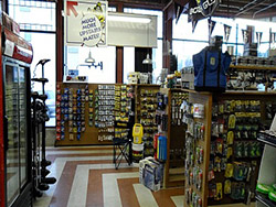 Pro Shop: The inventory in the tackle shop rivals any shop in the area, and if you don't see it, we can get it!