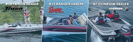 Top Triton, Ranger & Evinrude Dealer in the US!