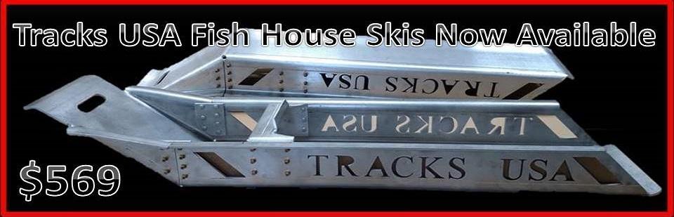 Dirt tracks usa shop atv utv tracks accessories for Fish house skis