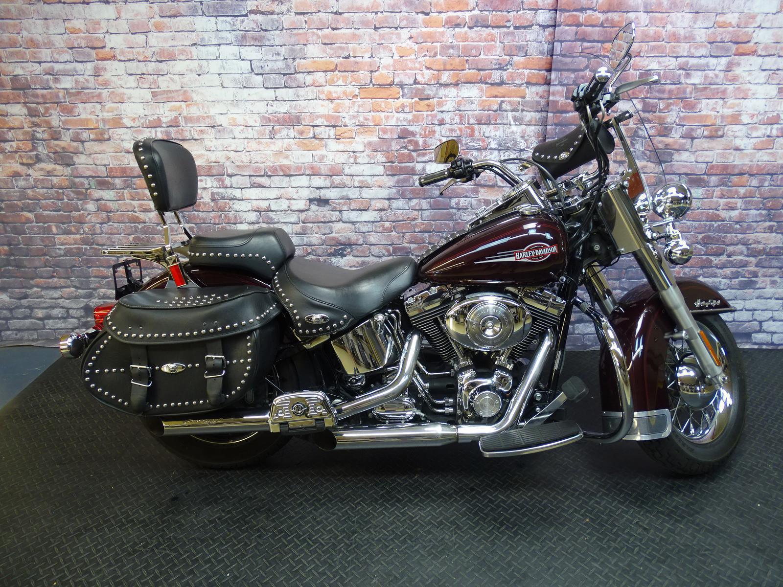 Harbor Town Harley Davidson Heritage Softail Clic 2008 Flstc