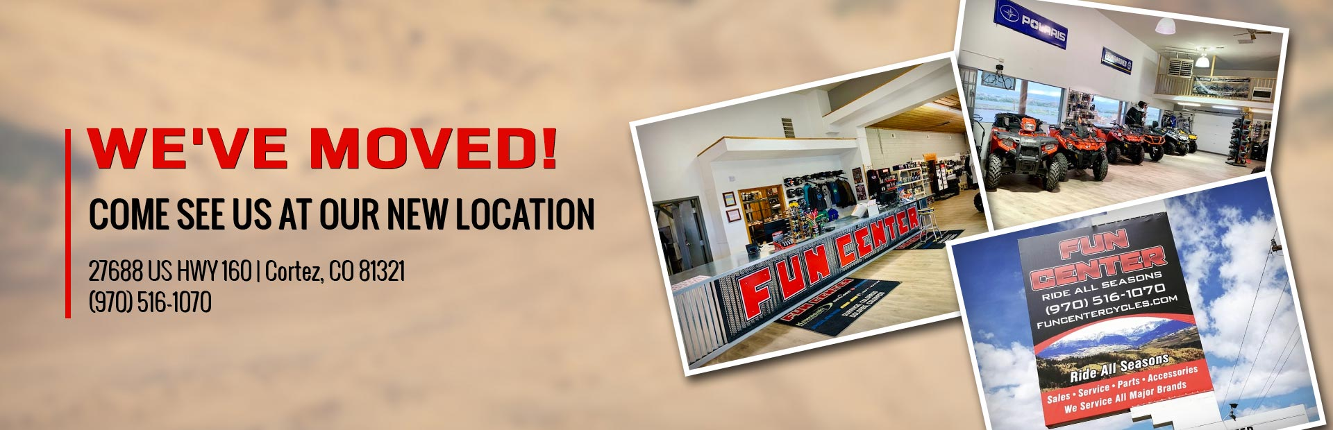 We've moved! Come see us at your new location!