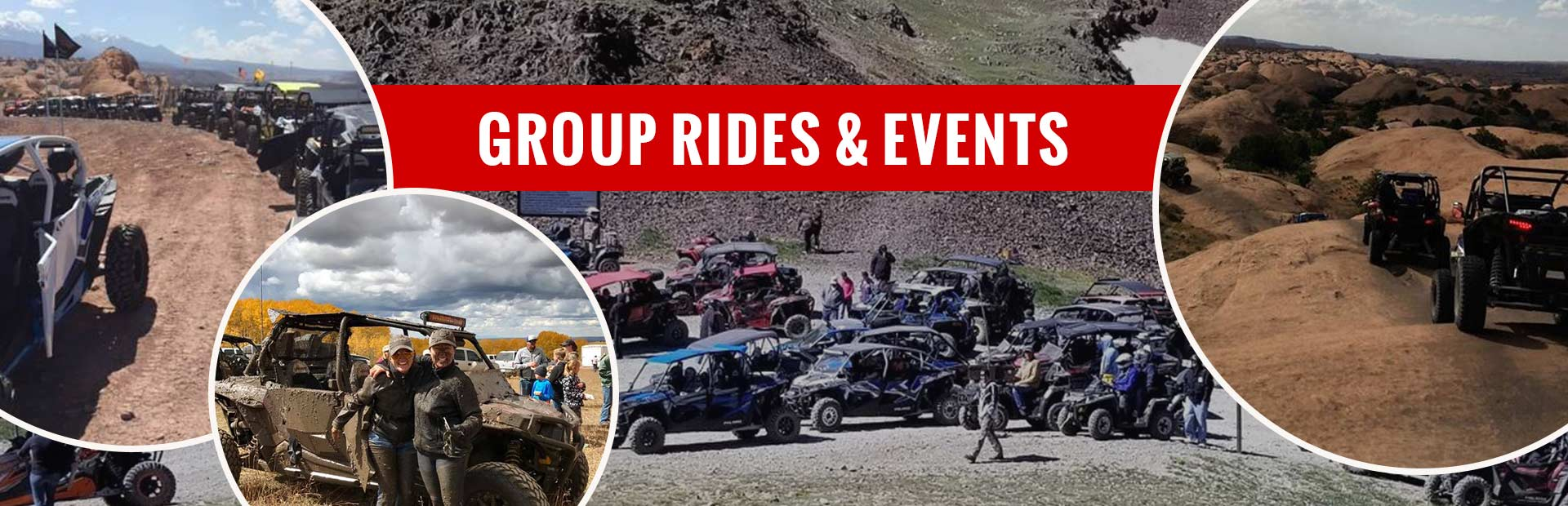 Click here for information on group rides and events!