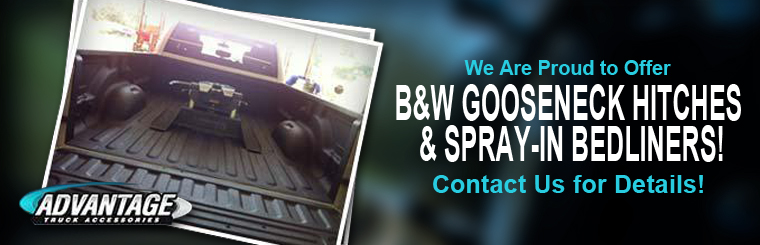 We are proud to offer B&W Gooseneck bedliners!