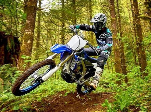 Yamaha Cross Country Dirt Bikes