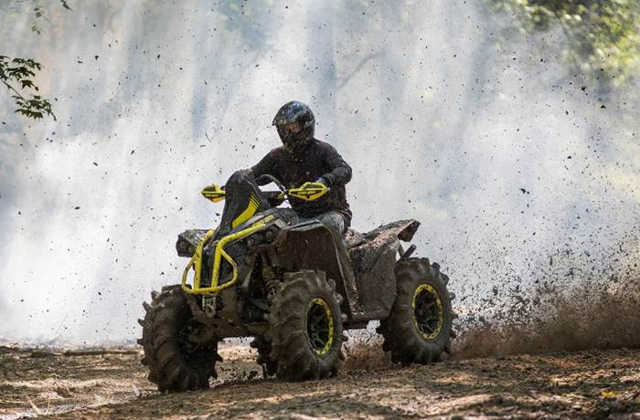 Can Am Mud ATVs