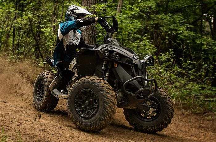 Can Am Sport 4 x 4 ATVs
