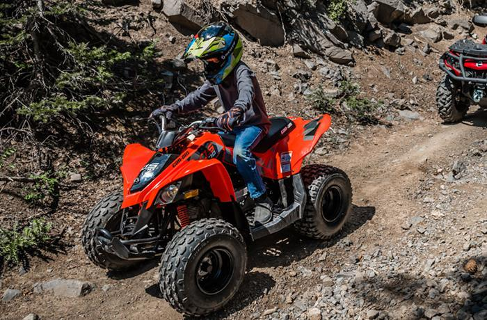 Can Am Youth ATVs