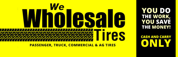 Grinnell Firestone Wholesale Tires: You do the work, you save the money! Contact us for details.