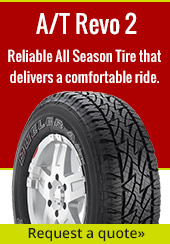 A/T Revo 2. All Season Tire that delivers a comfortable ride. Request a quote.