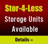 Stor-4-Less, Storage Units Available. Click here for Info