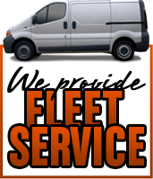 We provide Fleet Service