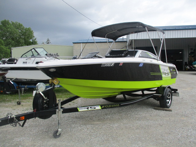 2013 Four Winns boat for sale, model of the boat is H180 & Image # 1 of 8
