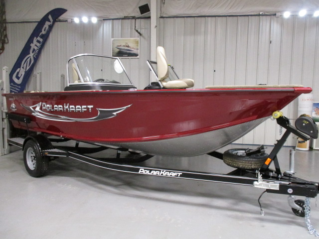 2021 Polar Kraft boat for sale, model of the boat is FRONTIER 179 WT JUMP & Image # 1 of 4
