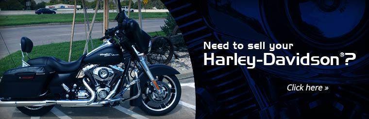 Need to sell your Harley-Davidson®? Click here!