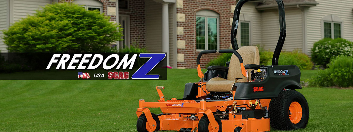Scag Zero-Turn Mowers & Power Equipment Stanley & Son, Inc
