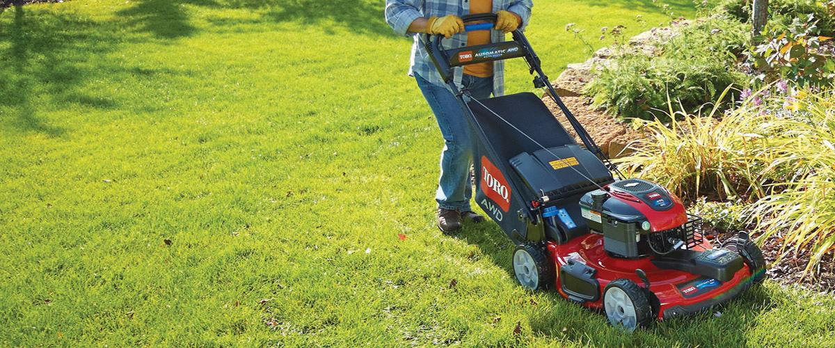 Walk-Behind & Push Mowers