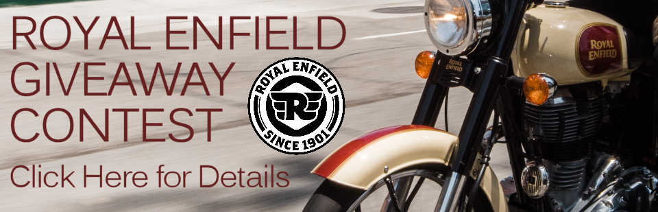 Royal Enfield Giveaway Contest