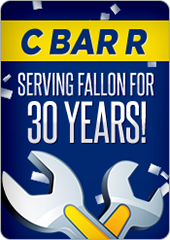 C Bar R has been serving Fallon for 30 years!