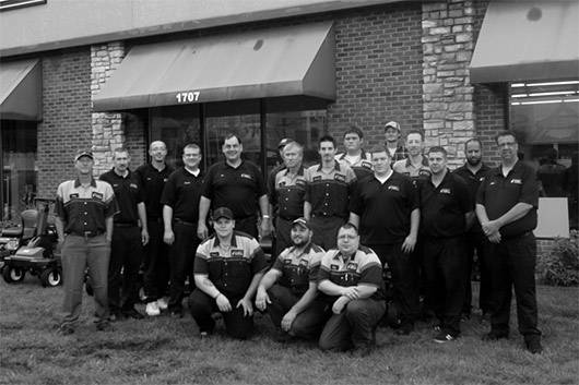 Heinold and Feller Tire Company and Lawn Equipment Staff