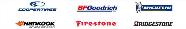 We carry products from Cooper, BFGoodrich®, Michelin®, Hankook, Firestone and Bridgestone.