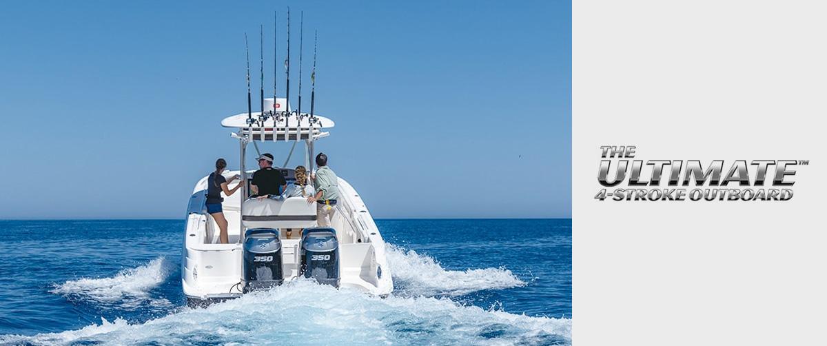 Suzuki Outboard Motors | In Line 4 | Mid Range | Portable | V6 Outboards |