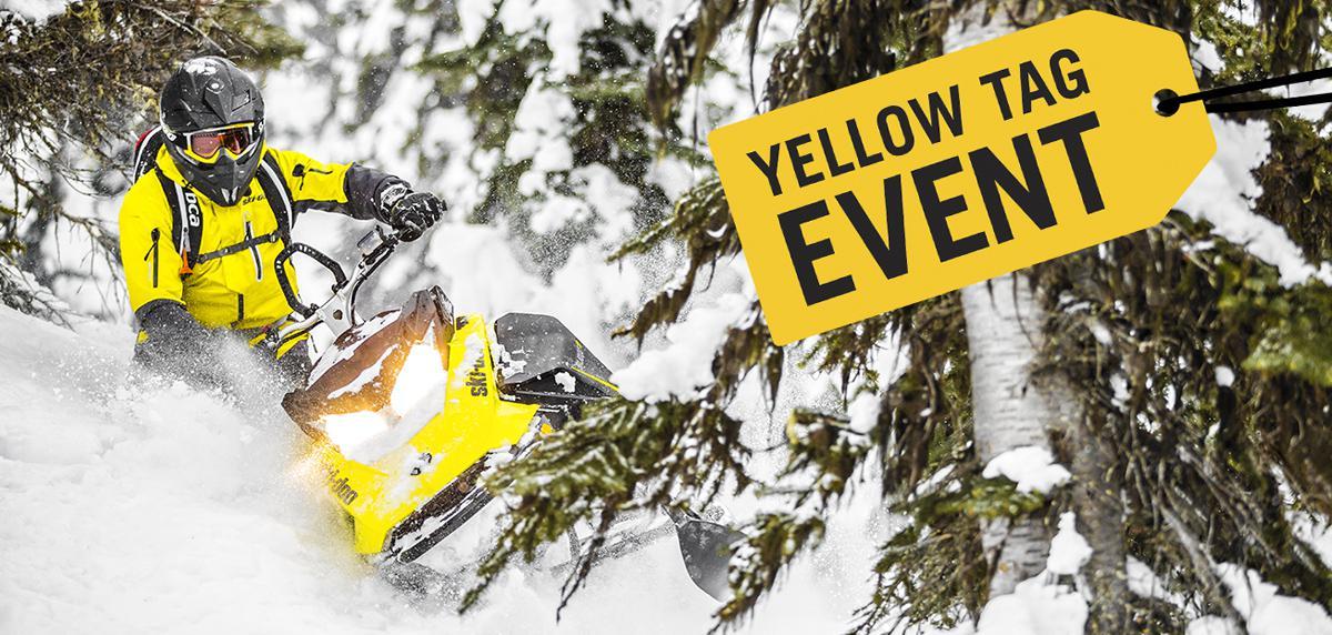 Ski Doo Yellow Tag Sale